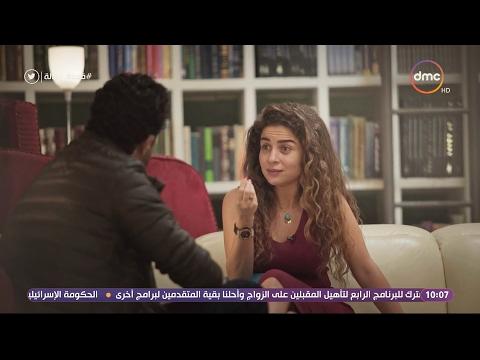 بدون رومانسية..مي عز الدين تتنبأ بهذا المصير لشريف سلامة