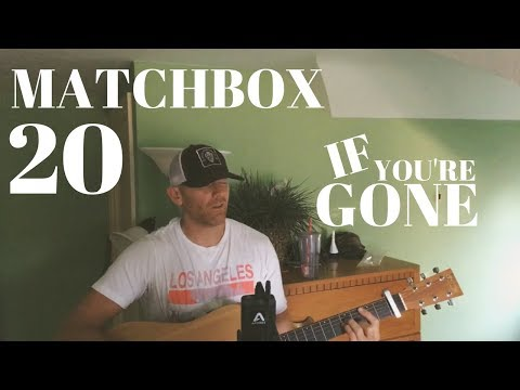 Matchbox 20 If You're Gone - Acoustic (Cover by Derek Cate) Live