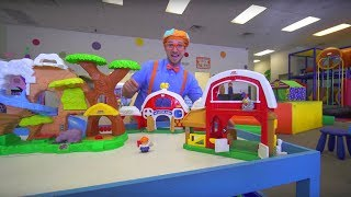 Blippi at the Indoor Play Place | Learning Movements