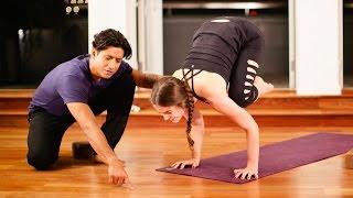 Video A Yoga Sequence to Build Strength for Arm Balances MP3, 3GP, MP4, WEBM, AVI, FLV Maret 2018