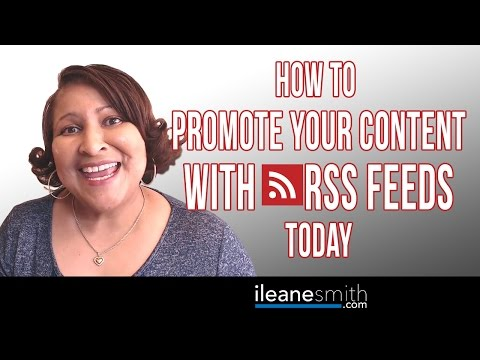 Watch 'How to Promote Your Content with RSS Feeds in 2016 '