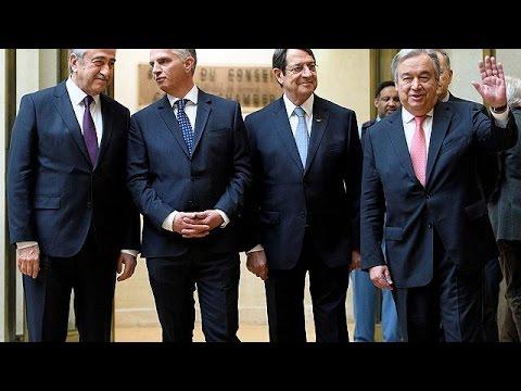 Κυπριακό: «Παράθυρο» για λύση παρά το χάσμα στην Γενεύη