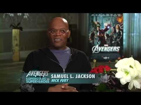 Samuel Jackson Promos The Avengers