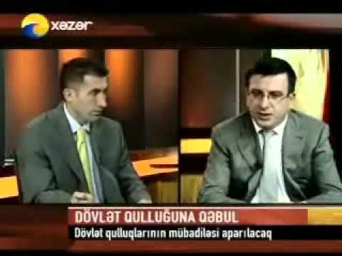 Dövlət Qulluğu Məsələləri üzrə Komissiyanın sədri Bəhram Xəlilovun müsahibəsi (11.06.2008)