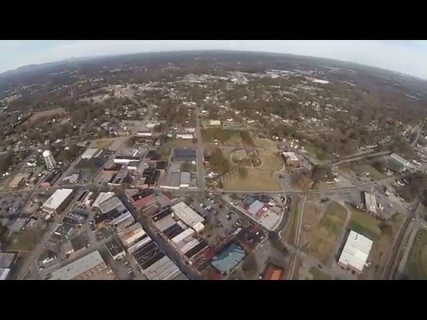 Bird's Eye View of Greer