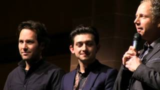 """The Fundamentals of Caring"" Premiere- Complete Intro and Q&A @ The Sundance Film Fest 1-29-16"