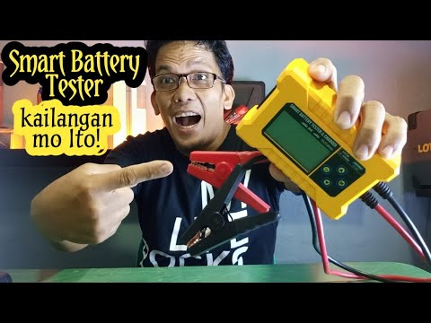 Smart battery tester & charger, BT380 the latest design of AUTOOL, tiyak safe Ang travel mo dito.