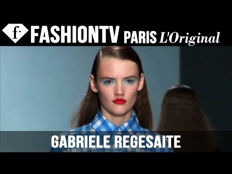 Fashion TV - http://www.FashionTV.com/videos GABRIELE REGESAITE - See the different looks and styles Gabriele Regesaite takes on during Spring/Summer 2015 fashion week. For franchising opportunities with.