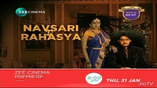 Nonton Navsari Ka Rahasya Zee Cinema Premiere Thu, 31 Jan 9pm Film Subtitle Indonesia Streaming Movie Download