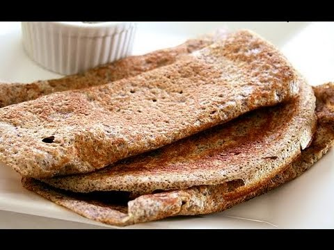 Recipe - Jonna Pindi Dosa (Sorghum Grains &amp; Finger Millets Snack) Recipe With English Subtitles