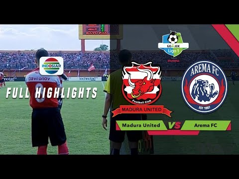 Madura United (3) vs (2) Arema FC - Full Highlight | Go-Jek Liga 1 bersama Bukalapak