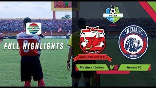 Video Madura United (3) vs (2) Arema FC - Full Highlight | Go-Jek Liga 1 bersama Bukalapak MP3, 3GP, MP4, WEBM, AVI, FLV Agustus 2018