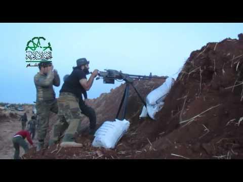 حلب: استهداف ميليشيات الأسد بالرشاشات المتوسطة على جبهة دوير الزيتون