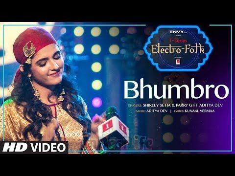 ELECTRO FOLK: BHOM-BRO(Full Video)   Shirley Setia, Parry G & Aditya Dev   Shirley Setia New Songs
