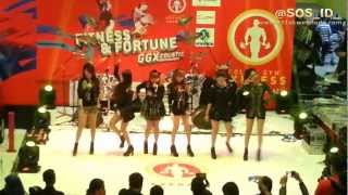 SOS (Sensation Of Stage) - Independent Girl Live at Launching Golds Gym 130326