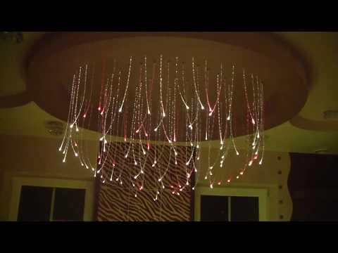 Zestaw Fala Świetlna, lampy światłowodowe, projekt oświetlenia do jacuzzi, spa, basenu