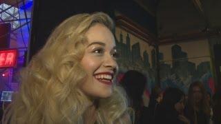 Rita Ora Interview: Rita Talks Fashion, Cara Delevingne And New Music At DKNY Party