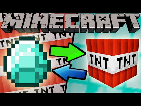 If Diamonds and TNT Switched Places - Minecraft