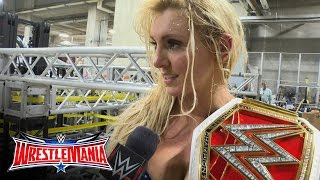 Nonton Was Charlotte Disappointed With How She Won   Wrestlemania 32 Exclusive  April 3  2016 Film Subtitle Indonesia Streaming Movie Download