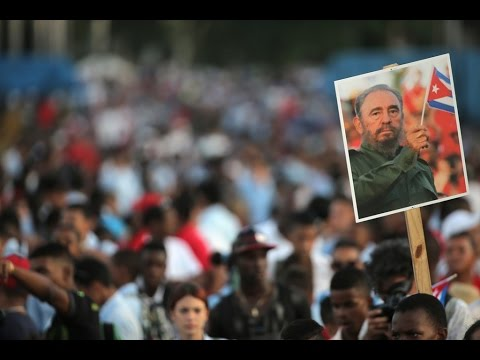 Homenaje a Fidel Castro en Santiago de Cuba