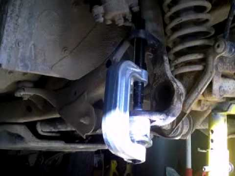 Tj Jeep ball joints Pt 2.MPG