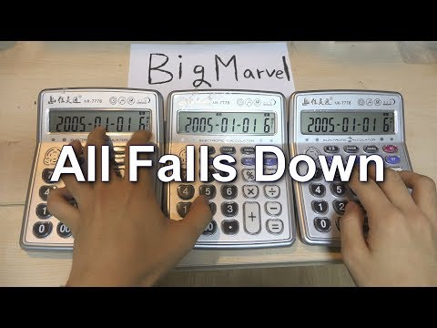 Alan Walker - All Falls Down Calculator Cover