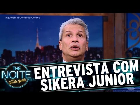 Entrevista com Sikêra Júnior | The Noite (30/03/17)