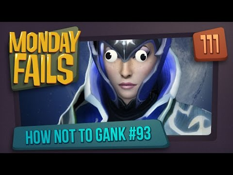 Monday Fails - How NOT to gank #93