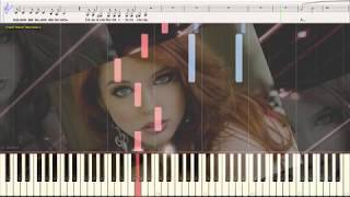 Я ведь женщина - Карельская Евгения (Ноты и Видеоурок для фортепиано) (piano cover)