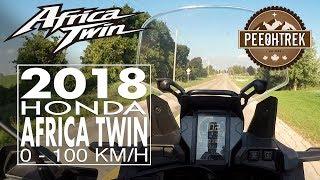 6. 2018 Honda Africa Twin (DCT), 0-100 KM/H.
