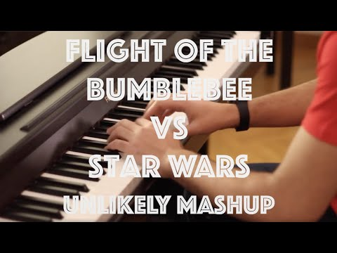 Music mashup time!   FLIGHT OF THE BUMBLEBEE VS THE IMPERIAL