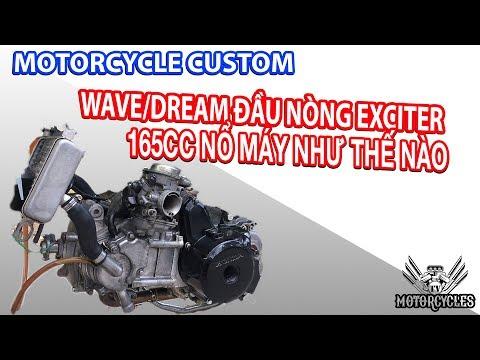 Video 108:phần 7 máy dream wave đầu ex 165cc nó nổ như thế nào. tét lốc gãy dên không - Thời lượng: 12 phút.