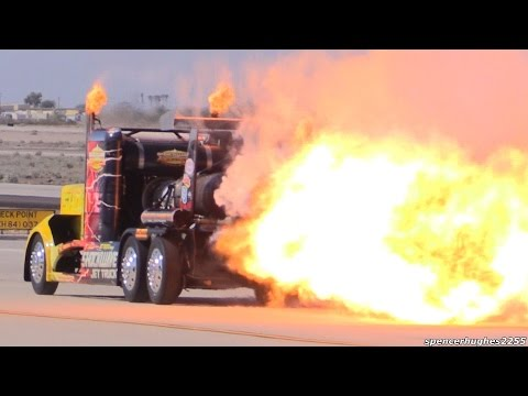 2015 MCAS Yuma Air Show - Shockwave Jet Truck
