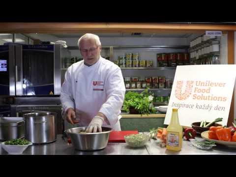 TV Gastro&Hotel: Videorecept Milana Sahánka, šéfkuchaře Unilever Food Solutions: Jarní závitky s rybou a zeleným salátem