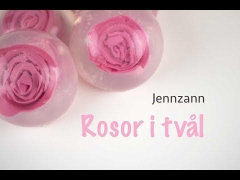 DIY Gjut in rosor i tvål!