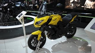 10. 2015 Kawasaki Versys 650, middleweight road-touring live EICMA Milan Motorcycle Show [Mega Gallery]
