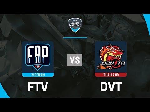 FAPTV vs DEVITA - ESL Clash Of Nations 2019 - Garena Liên Quân Mobile - Thời lượng: 1:34:16.