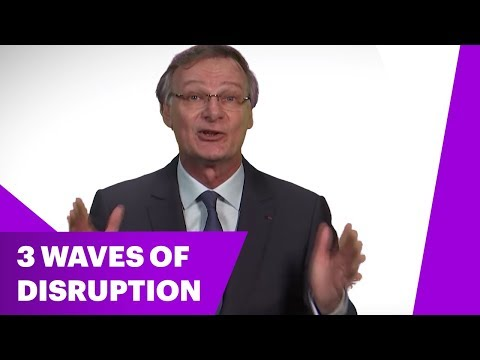 Managing the 3 Waves of Disruption