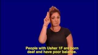 Usher Syndrome Type 1F