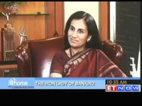 Kochchar - Chanda Kochhar shares start of the ICICI journey.