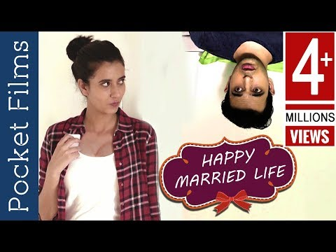 Husband and wife love after marriage | Romantic Short Film - Happy Married Life!