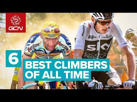 Top 6 Climbers Of All Time   Road Cyclists Vs Mountains