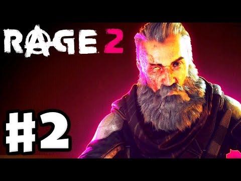 Rage 2 - Gameplay Walkthrough Part 2 - John Marshall! Blackout Sewer Mission! (PC)