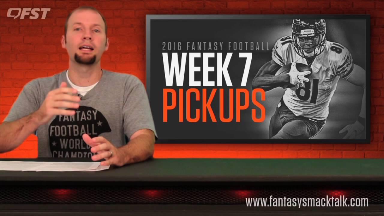 Fantasy Football: Week 7 Waiver Wire thumbnail