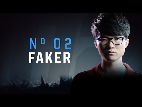 世界排行第二名 : Faker
