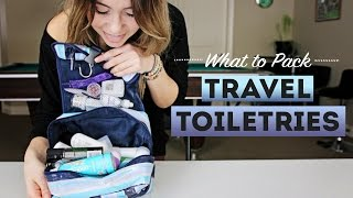 What To Pack: TRAVEL TOILETRIES full download video download mp3 download music download