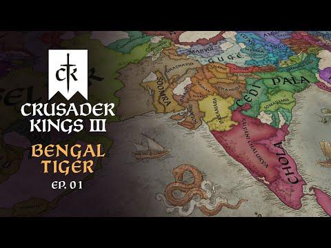 [VOD] - CRUSADER KINGS 3 | Bengal Tiger - Episode 1