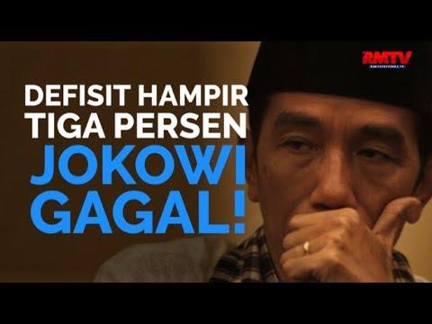 Defisit Hampir 3 Persen, Jokowi Gagal!