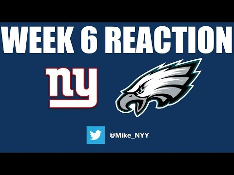 NY Giants Week 6 Reaction (Worse Than The Browns?)
