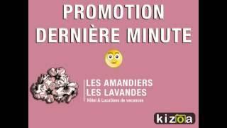 Promotion dernière minute Hôtel les Amandier Saint-Raphaël : Chambres et Studios